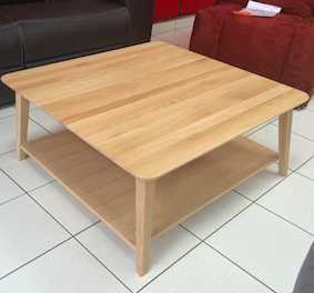 table basse au style scandinave