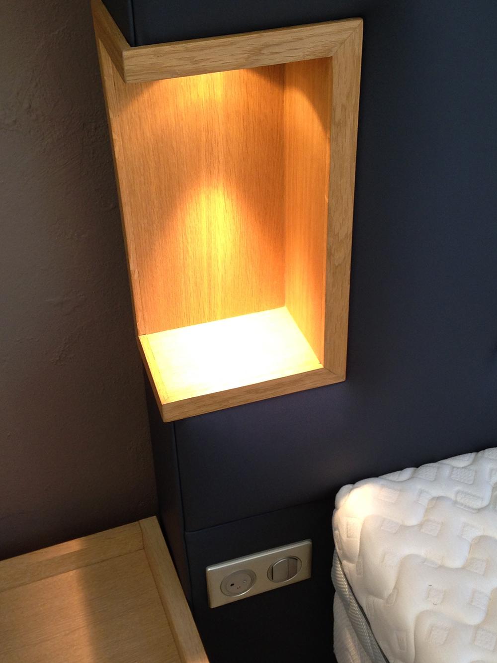 tête de lit en cuir à Lyon