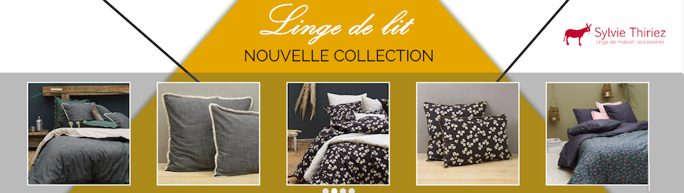 collection linge de lit Sylvie Thiriez hiver 2019/2020